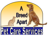 A Breed Apart Pet Care Services